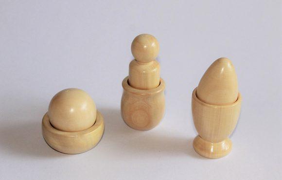 Montessori puzzle wooden toys