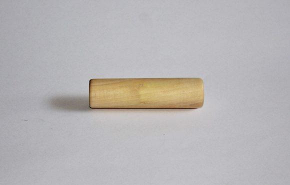 Cylinder Rattle - Thasvi Wooden Montessori inspired baby Cylinder rattle