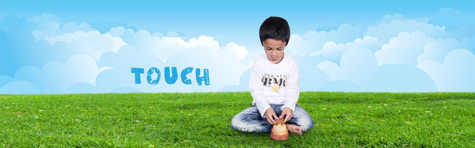 Thasvi Wooden toys - Touch feel Explore