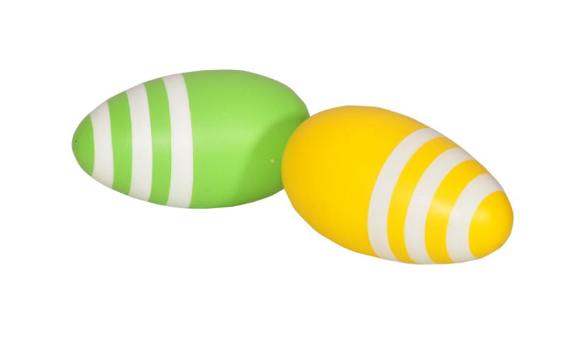 Wooden Egg Shakers - Coloured