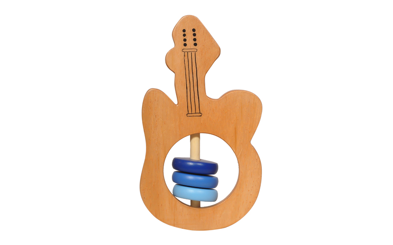 Wooden Guitar Rattle