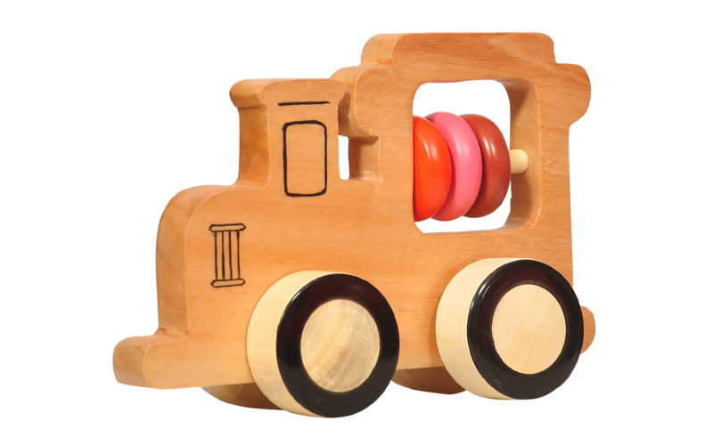 Wooden Train Push Toy